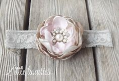 Blush Pearle  Couture Ombre Flower Latte and by SophieGraceCouture, $25.00