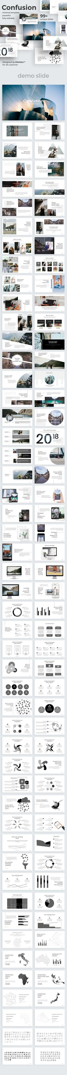 Confusion Creative Google Slide Template - Google Slides Presentation Templates