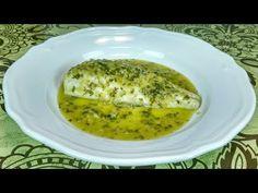 MERLUZA EN SALSA VERDE - YouTube Salsa Verde, Cod, Eggs, Fish, Breakfast, Youtube, Hake Recipes, Meals, Egg