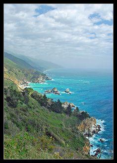 California's Big Sur coast by sjb4photos, via Flickr