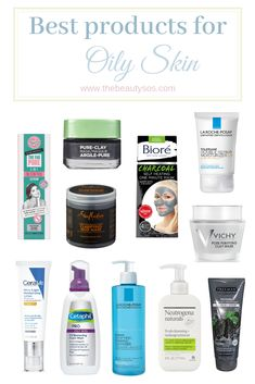 Skin Care Products for Oily Skin 2018 - Healthy Skin 🏻 Oily Skin Care, Skin Care Regimen, Skin Care Tips, Skincare For Oily Skin, Oily Skin Products, Oily Skin Makeup, Oily Skin Remedy, Moisturizer For Oily Skin, Drugstore Skincare