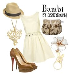 Disneybound Bambi outfit...love that dress!
