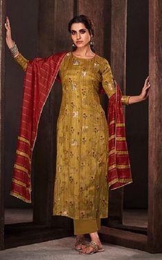 JayVijay Presents Forage Pure Bemberg Silk Jari Jacquard Salwar Suit 5008 Bridal Collection, Dress Collection, Fancy Dress Material, Fancy Dress Online, Fairytale Dress, Cotton Suit, Salwar Suits, Indian Dresses, Cotton Dresses