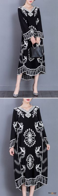 US$32.79+Free shipping. Size(US): One Size. Home or out, love this vintage and casual dress. Women Dresses, Long Dresses, Dresses Casual, Dresses for Teens, Summer Dresses, Summer Outfits, Retro Fashion. #dressforteenscasual #womensfashionretrosummer #womensfashionvintagecasual #womensfashionretrodresses