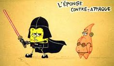 star wars -  spongebob