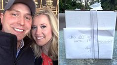 Couple receives mysterious wedding gift — and finally opens it nine years later