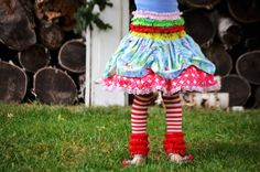 Girls Christmas winter twirly skirt by ISADORAKIDS on Etsy, $46.00