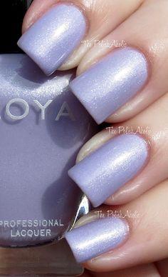 Zoya nail polish, color Julie (Spring collection 2013)