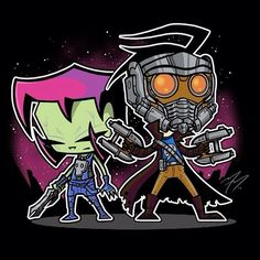 Invader Zim - Guardians of the Galaxy