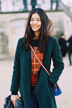 Vanessa Jackman: Paris Fashion Week AW 2014....Lui Wen