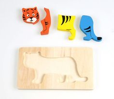 1 Sets Wooden Geometry Montessori Kid Baby Early Cartoon Tiger Puzzle Block Toy - http://baby.goshoppins.com/toys/1-sets-wooden-geometry-montessori-kid-baby-early-cartoon-tiger-puzzle-block-toy/