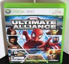 MARVEL ULTIMATE ALLIANCE FORZA 2 --- XBOX 360 Complete  w/ Box Manual