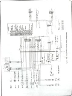 85 chevy truck wiring diagram chevrolet truck v8 1981 1987 rh pinterest com 87 chevy truck wiring diagram 1987 chevy truck headlight wiring diagram
