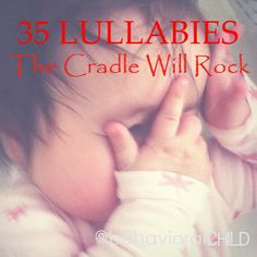An alternative to the same old RockaBye baby tune: The Cradle Will Rock lullabies #funstuff