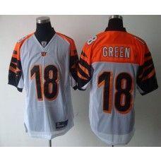 Bengals  18 A.J. Green White Stitched NFL Jersey 82f22e4f4