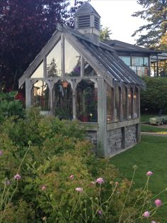 Great Tudor greenhouse