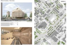 Library of Varna  Project by: Boyarsky Murphy Architects, United Kingdom (UK)