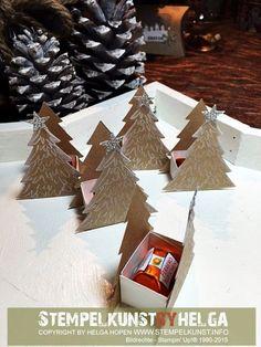 """Nur noch 3 Tage dann ist Heiligabend und in meinem Kopf dreht sich alles nur noch um Sterne, Weihnachtsbäume und Glitzer. Das Weihnachtsset """"O Tannenbaum"""", mit den passenden Framelits """"Tannentraum"""","""