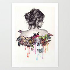 Butterfly Effect by KatePowellArt -