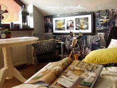 .zmysły i pomysły: gazetowa sypialnia
