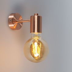 Wandleuchte Facil Kupfer Wandleuchte Facil Kupfer The post Wandleuchte Facil Kupfer appeared first on Lampen ideen. Wall Lights, Copper Wall, Beautiful Lamp, Wall Lamps Bedroom, Copper Wall Light, Wall Lamp, Bathroom Ceiling Light, Light, Lamps Living Room