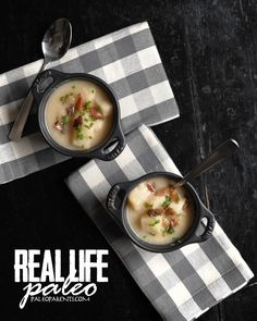 Baked (not) Potato Soup from Real Life Paleo by Paleo Parents