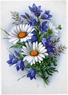 r… - Malerei Daisy Painting, China Painting, Fabric Painting, Watercolor Flowers, Watercolor Paintings, Face Paintings, Tole Painting Patterns, Wood Patterns, Henna Patterns
