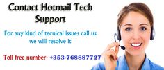 If you have any issue with your Microsoft Hotmail account then ask me by dialing this Number +353-768887727.