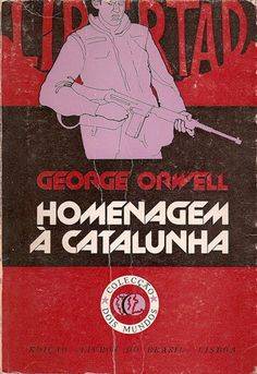 International cover images of Orwell's Homage to Catalonia (one of the best books on the Spanish Civil War)