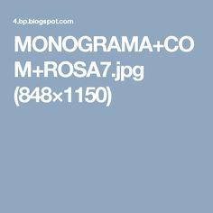 Monogram, Cross Stitch, Embroidery, Flowers