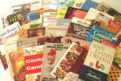 Cook Booklet Recipe Book Lot Advertising Brand Cookbooks Instant Collection