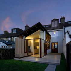 Image 6 of 15 from gallery of The End Line / Ailtireacht. Photograph by Corsico Images Roof Design, Exterior Design, House Design, Architecture Details, Interior Architecture, Dublin House, Cap Ferret, Edwardian House, House Deck