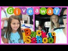 BACK TO SCHOOL NIGHT| GIVEAWAY | LEAKING OUR PHONE NUMBER| Emma & Ellie - YouTube