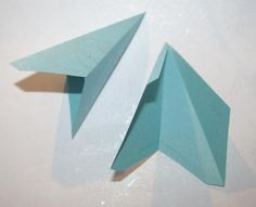 Tutorial: Make an Attractive 3D Paper Star Decoration: Fold the Star Points