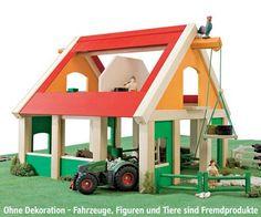Holz Bauernhof Selecta | D-Toy Spielzeug