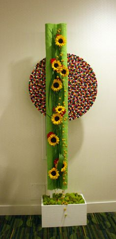 IMG_5925 sunflowers and Pinocchio rug by godutchbaby, via Flickr