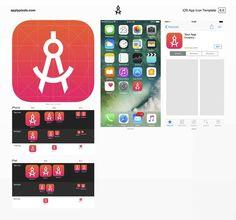 app icon design template