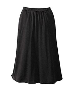 UltraSofts by National Skirt Black Petite Large >>> You can find out more details at the link of the image.