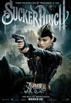 Sucker punch poster for Amber played by Jamie Chung. Sucker Punch, Science Fiction, Image Internet, Jena Malone, Emily Browning, Movies And Series, Jamie Chung, Suckers, Film Serie