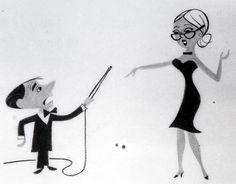 Cartoon Modern :: More Ed Benedict Commercial Designs :: August :: 2006 Retro Cartoons, Animated Cartoons, Retro Art, Vintage Art, Vintage Space, Cartoon Design, Cartoon Styles, Character Illustration, Illustration Art