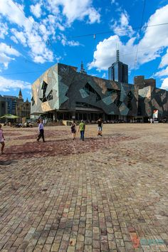 Visit Federation Square in Melbourne, Australia