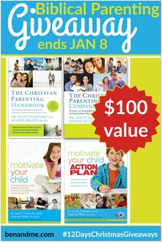 8th Day of Christmas — Biblical Parenting Giveaway