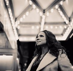Pictured: Classically-trained soprano and living legend Audra McDonald.