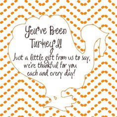 You've been Turkey'd Ding Dong Ditch label and ideas for the classroom!: