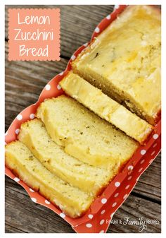 If you are trying to sneak zucchini into everything you are making this time of year - this Lemon Zucchini Bread is for you!