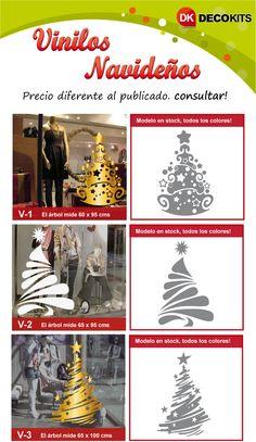 Ploteo navidad vinilos vidrieras decoracion promocion for Adornos navidenos mercadolibre