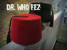 The Perfect Dr. Who Fez and mini fez