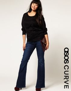 totally me with the jeans and black shirt... now I just need to add the rocking shoes.