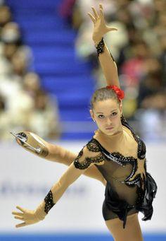 Russian Sports. Adelina Sotnikova is a Russian figure skater. #AdelinaSotnikova