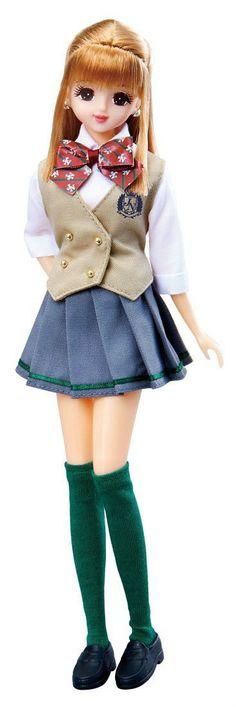 Takara Tomy Jenny Doll School Life